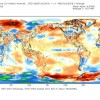 Temperature globali NCEP-CFSv2 – Anomalie mese di Luglio 2016