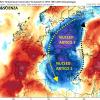 Ottobre si presenta: perturbazione atlantica, due nuclei artici e dopo si riapre il flusso atlantico, le tempesta perfetta
