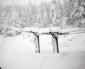 Imponenti nevicate sopra Bardonecchia