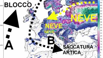 Nuovi scenari freddi nei modelli per il mese di Novembre portano neve in Europa
