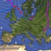 Peggioramento per il momento quasi inesistente nelle pianure tra Piemonte e la Lombardia, continua la siccità..