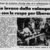 2 Agosto 1976, ingenti danni dopo la tromba d'aria che si è abbattuta ieri sul Verbano