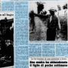 Bufera e piogge dopo oltre  2 mesi, ma la siccità continua 20/7/1976