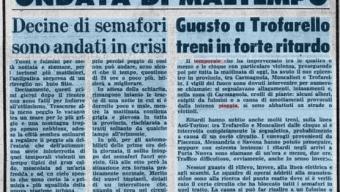 31 Agosto 1976 – Ondata di Maltempo nel Torinese
