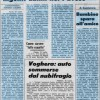 Pioggia e Grandine causano gravi danni nel Pavese, auto sommerse a Voghera 22 Luglio 1976