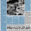 23 Luglio 1976, Violenti Nubifragi in tutta Italia, Raccolti perduti