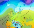04 aprile 2017…flusso settentrionale e variabilità dopo la depressione mediterranea…