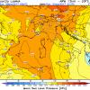 Netto crollo termico al centro sud nel week end