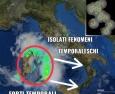 Forti temporali in Sardegna e nel medio-basso Tirreno, più isolati nel medio adriatico, eccovi la situazione attuale!