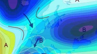 Freddo pungente in ogni direzione … Condizioni rigide invernali si impadroniscono dell'emisfero settentrionale mentre il pianeta si raffredda