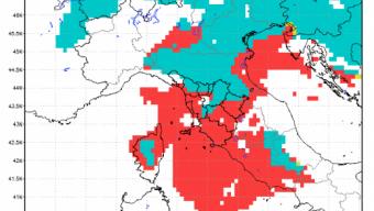 18 Marzo 2018 – Ritorna l'Inverno: Neve su Nordest