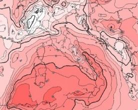 Caldo Eccezionale al sud, 27 gradi in piena notte