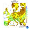 11/17 Marzo 2018: Italia ed Europa secondo il NOAA