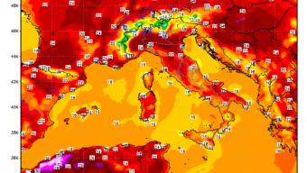 Torna il caldo al nord italia