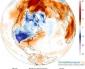 Grandi anomalie di temperatura in tutto l'emisfero settentrionale.(pubblicato da Centra Massimo)