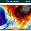 Continua l'anomalia positiva della temperatura su gran parte dell'Europa.