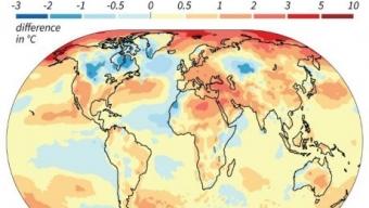 Il 2018 sarà il quarto anno più caldo dal 1880