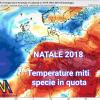Natale 2018 con temperature miti.