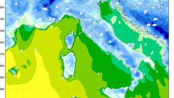 Discesa Artica imminente temperature in brusco calo nelle prossime ore