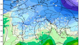 Conferme sulla possibile nevicata tra martedì notte e mercoledì