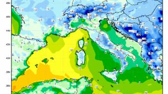 Temperature sotto zero nelle prossime ore