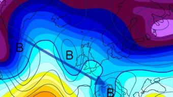 11 gennaio 2019…dall'aria artica a quella polare marittima…