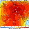 TENDENZA METEO. Mezza Europa con l'anticiclone da record a fine Febbraio
