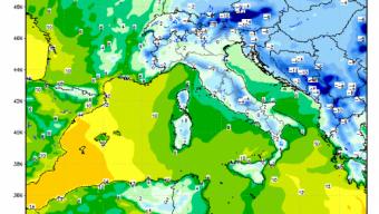 Forte Bora e decisa diminuzione delle temperature