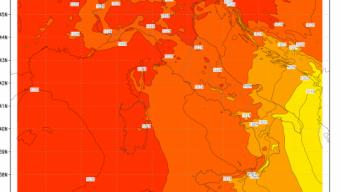 Oggi temperature eccezionali,anche al di sopra dei 27 gradi al Nord Italia
