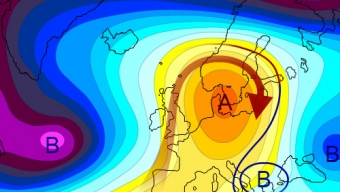 ANOMALIE TERMICHE: bolla di calore sul nostro Continente…