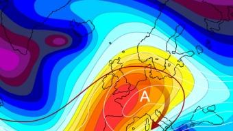Tendenze settimana: Instabile e clima invernale al Sud, primaverile al Centro-Nord