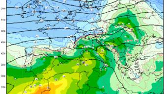 Domani probabili precipitazioni