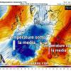 Instabile e più freddo nei prossimi tre giorni sulle regioni settentrionali e centrali.