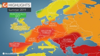 ACCUWEATHER : ESTATE 2019 IN EUROPA