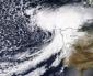 """La tempesta """"Miguel"""" verso il Portogallo e il nord della Spagna."""