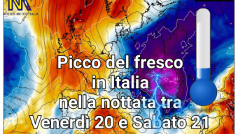 CALDO POI FRESCO POI PROBABILMENTE NUOVO AUMENTO DELLA TEMPERATURA.