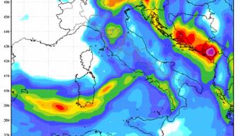 Ancora precipitazioni nelle prossime ore