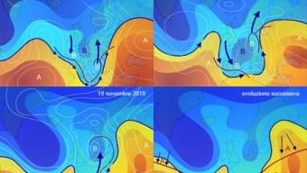 17 novembre 2019…didattiche dinamiche meteo in corso…