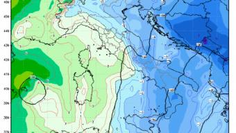 Sicilia: imminente peggioramento in serata con neve a bassa quota.