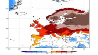 Gennaio 2020 sotto l'insegna dell'alta pressione e abbastanza mite durante le ore diurne su gran parte del vecchio continente.