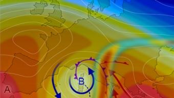 19 maggio 2020…circolazione ciclonica in azione…