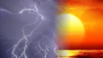 Oggi temporali sui rilievi e zone interne, ma con temperature estive.