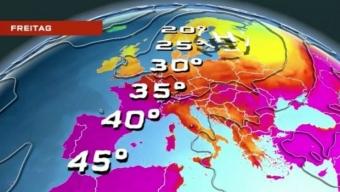 🔥🌡️Nuova avvezione calda nord africana in arrivo sull'Europa occidentale. 🔥🌡️