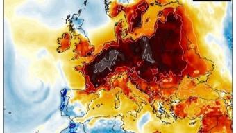 Una intensa onda di calore tardiva sta per interessare gran parte del continente europeo.