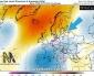 Bassa pressione sulla penisola Iberica e aria calda verso l'Italia e i Balcani nel corso della prima settimana di febbraio.