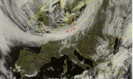 fase instabile costante per molte regioni, clima invernale su mezza Italia