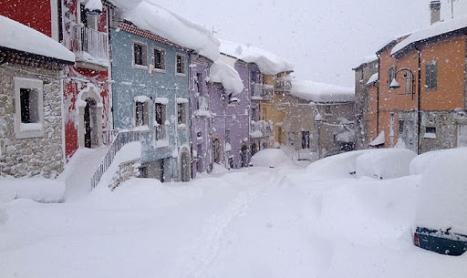 Il disgelo artico aumenta le nevicate sull'Europa 🌨️