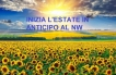 Inizia l'Estate (normale,25°, non i 30°)al NW italiano