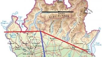 Il Fiume Adda: perche' pare tagliare in due il Meteo in Lombardia?
