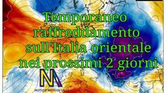 Temporaneo raffreddamento ma da venerdì tornano le temperature estive un po' ovunque in Italia